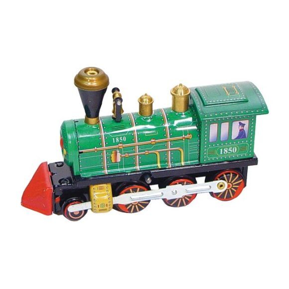 Locomotive Tin Toy, Green