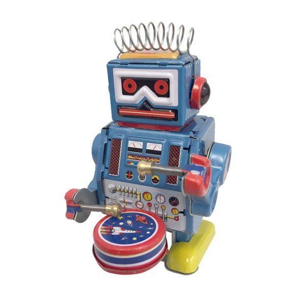 Robot Tin Toy, Blue