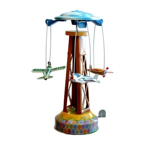 Merry-Go-Round Tin Toy, Multi