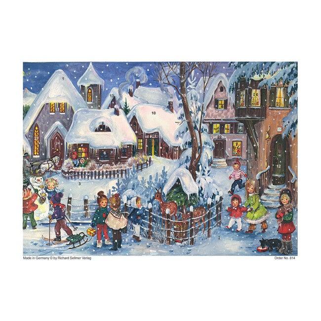 Village Children Advent Calendar