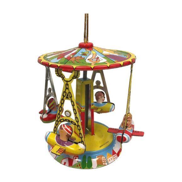 Carousel Tin Ornament, Multi