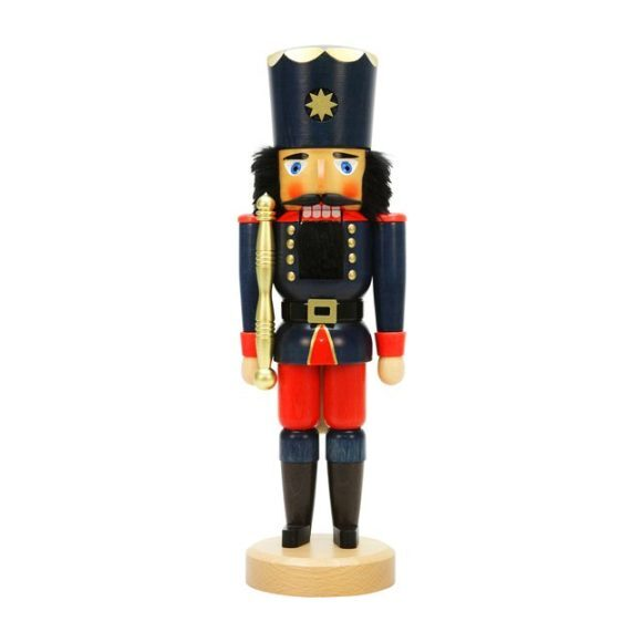 Soldier Nutcracker, Blue