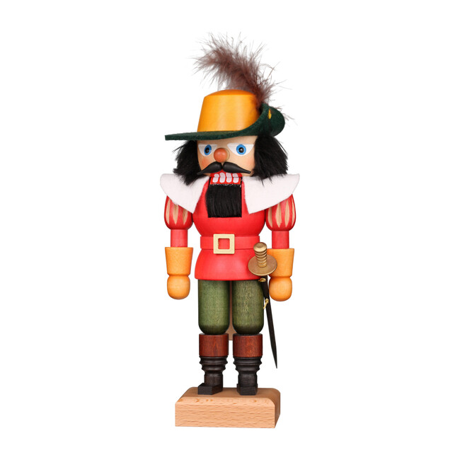 Musketeer Nutcracker, Red