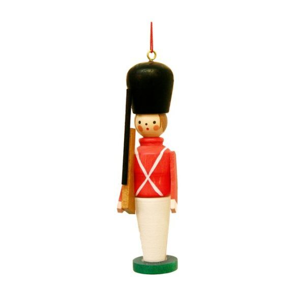 Toy Soldier Ornament, Red