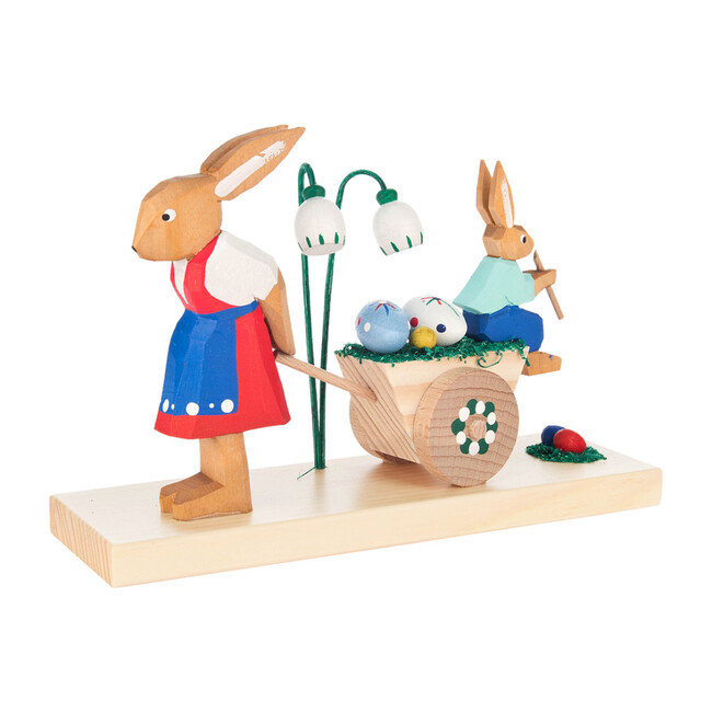 Easter Figures, Rabbit Mother and Son