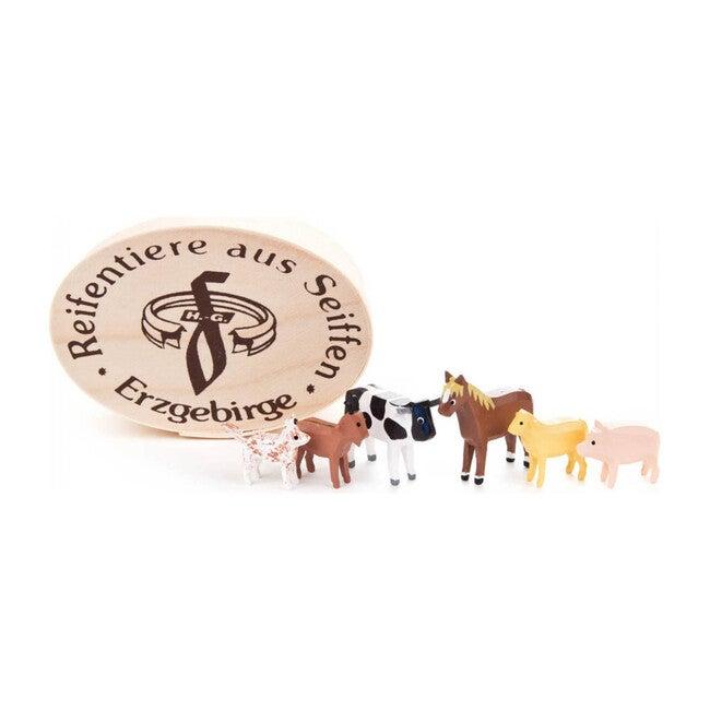 Farm Animals Chip Box