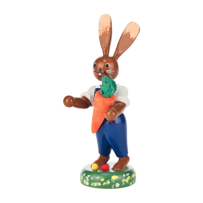 Easter Figure, Rabbit with Carrot