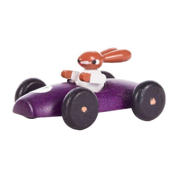Classic Rabbit Car, Purple
