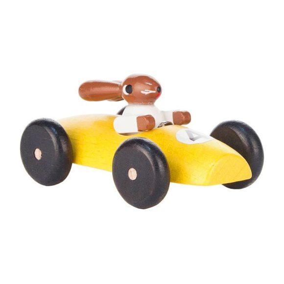 Classic Rabbit Car, Yellow