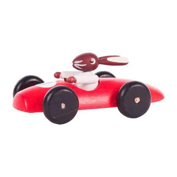 Classic Rabbit Car, Red