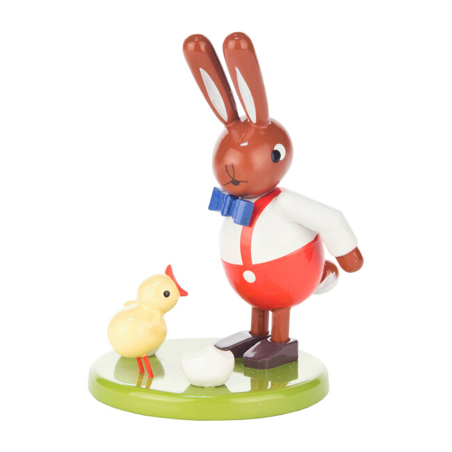 Easter Figure, Rabbit with Chick