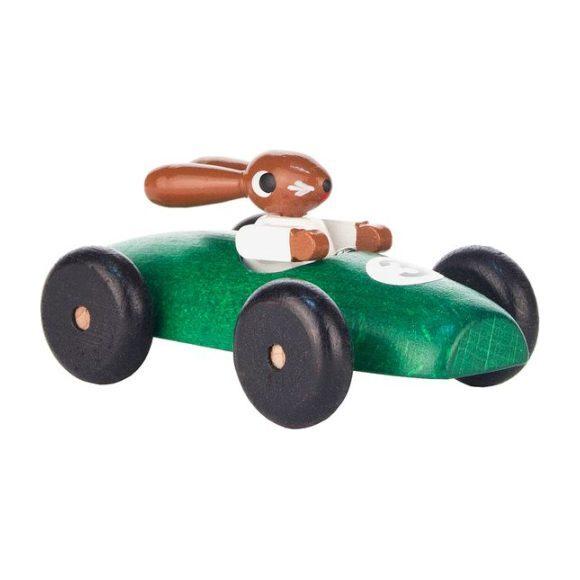 Classic Rabbit Car, Green