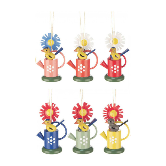 Watering Can Ornament Set