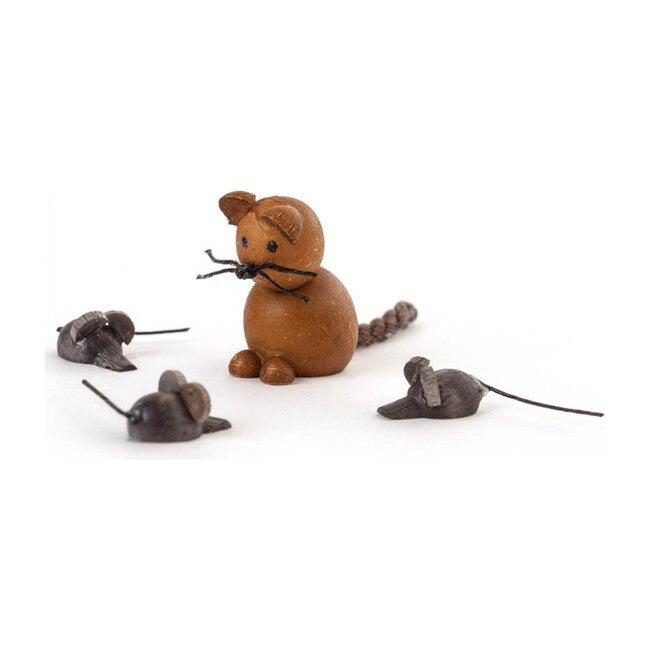 Cat and Mice Figure Set