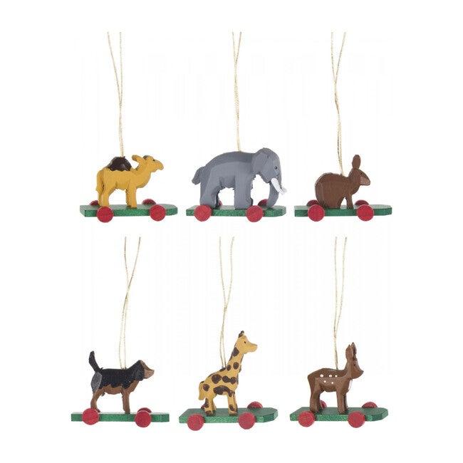 Zoo Animal Ornament Set