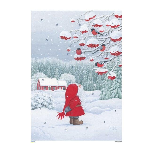 Tomte with Birds Advent Calendar