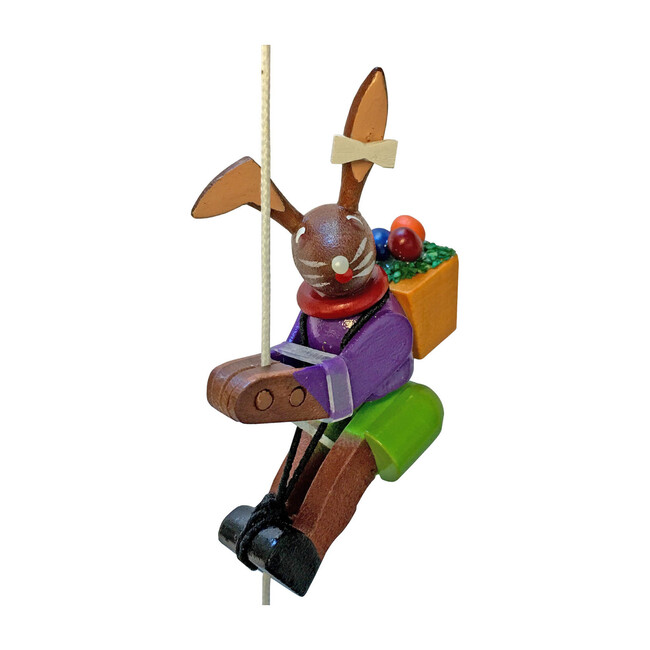 Wooden Toy, Climbing Bunny