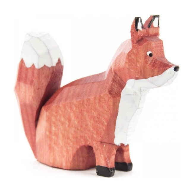 Sitting Fox Figure