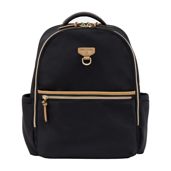 On The Go Backpack Black/Tan