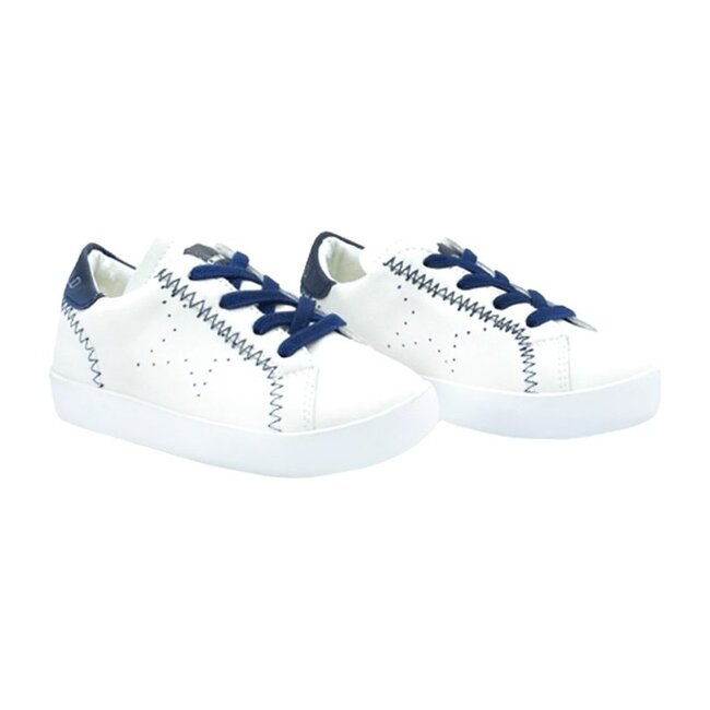 Jordy Sneaker, White and Navy