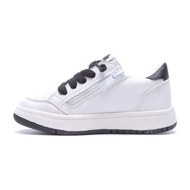 Drew Sneaker, White & Gold