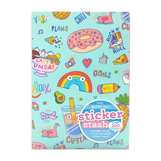 Sticker Stash, Quirky Fun