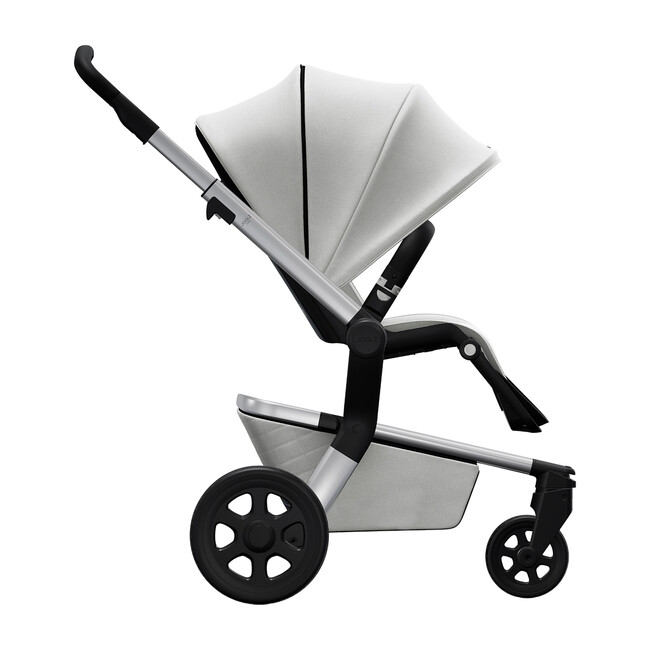 Hub Stroller, Stunning Silver
