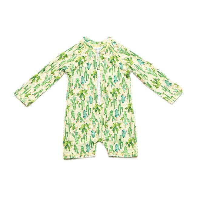 Mini Taylor Baby Swim Onesie, Cactus Blossom