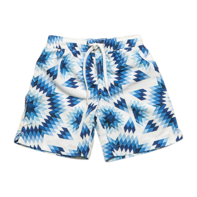 Mini Major Boardshort, Painted Suns