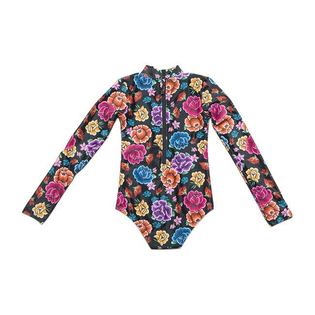 Mini Kelly Long Sleeve One Piece, Desert Floral