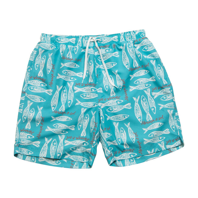 Men's Hudson Boardshort, Atlantic Sea
