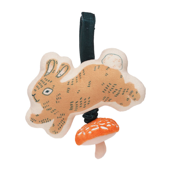 Button Bunny Pull Musical