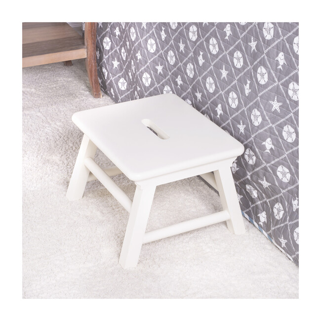 Melrose Step Stool, White