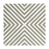 Anais Bone Inlay End Table, White/Grey - Accent Tables - 8