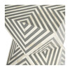 Anais Bone Inlay End Table, White/Grey - Accent Tables - 9