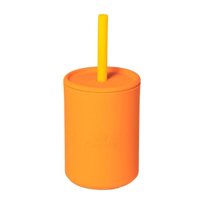 La Petite Silicone Mini Cup, Orange