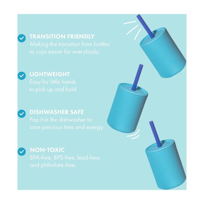 La Petite Silicone Mini Cup, Blue
