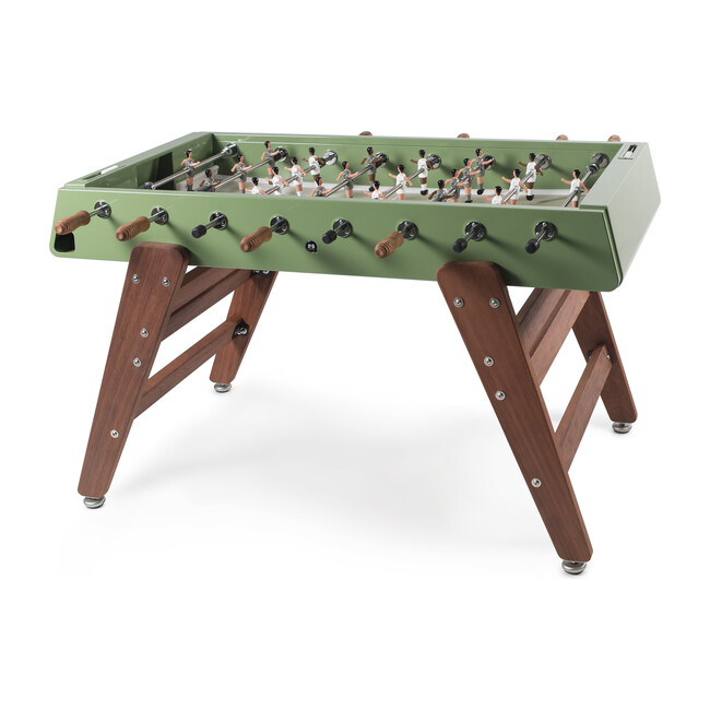RS #3 Indoor/Outdoor Foosball Table, Green/Wood