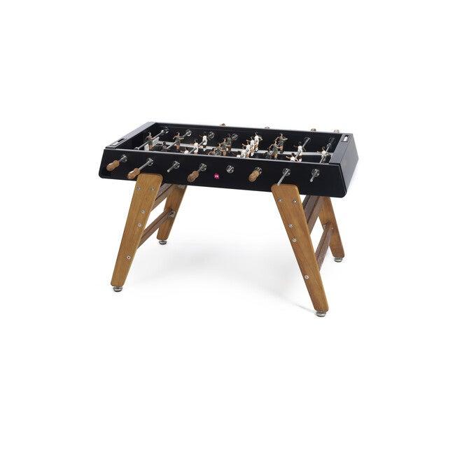RS #3 Indoor/Outdoor Foosball Table, Black/Wood