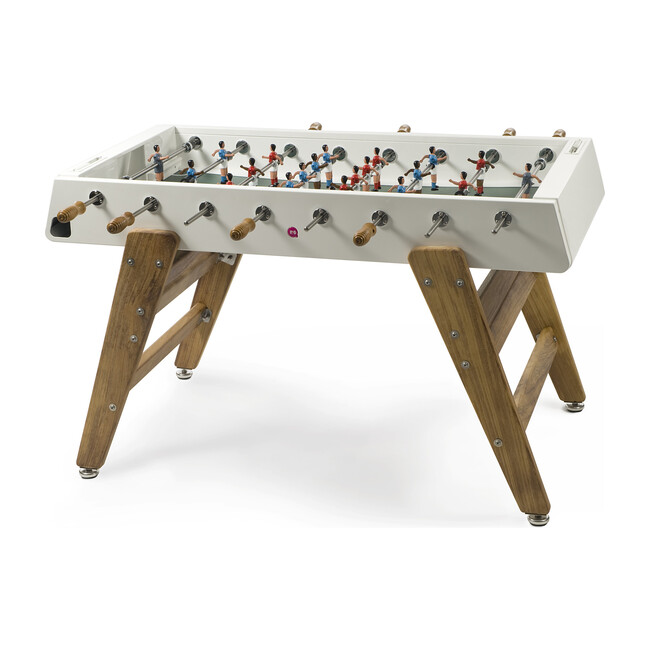RS #3 Indoor/Outdoor Foosball Table, White/Wood