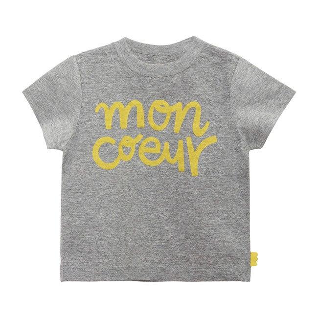 Baby T-Shirt, Light Grey