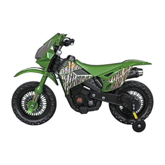 Realtree Dirt Bike 6V, Camo Green