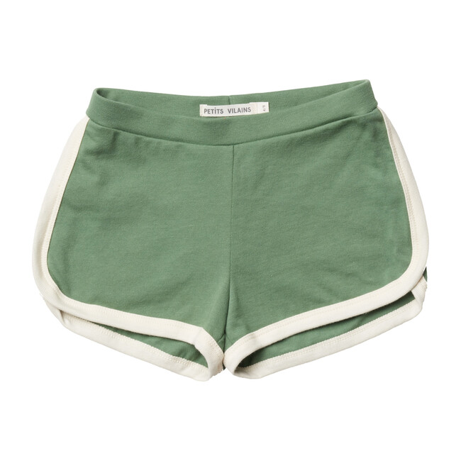 Francoise Gym Shorts, Atlas Green - Shorts - 1