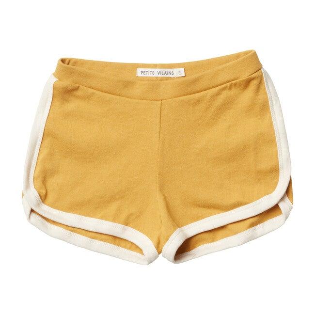 Francoise Gym Shorts, Miel - Shorts - 1