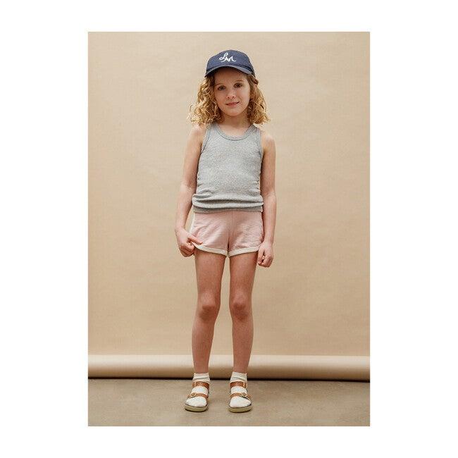 Francoise Gym Shorts, Dusty Pink