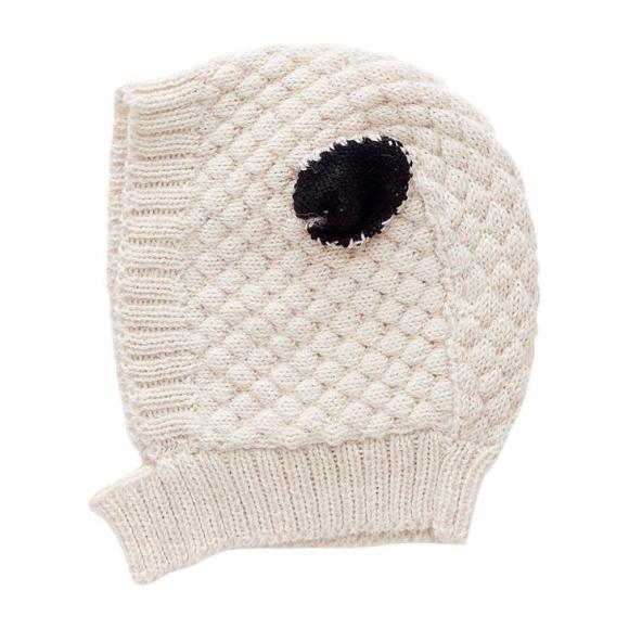 Winter Hat Sheep, White