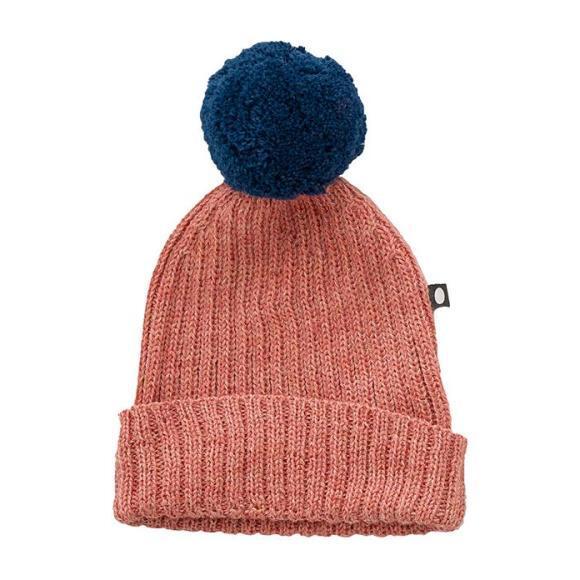 Pompom Hat, Pink