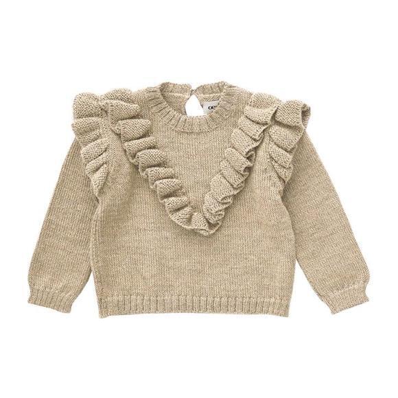 Frou Frou Sweater, Beige