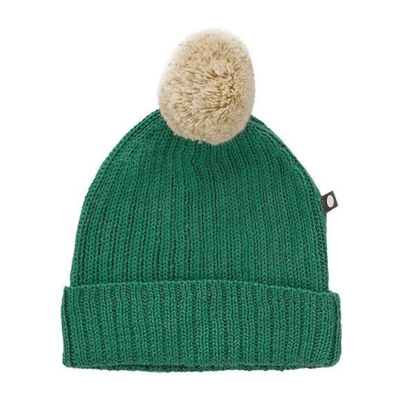 Pompom Hat, Green