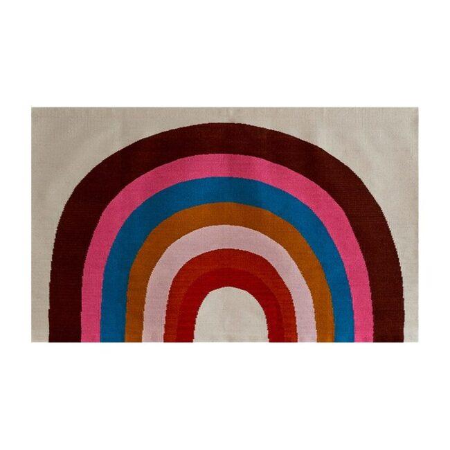 Rainbow Rug, 4' x 6'